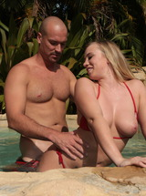 Bailey Brooke Sucks Big Cock In The Hot Tub
