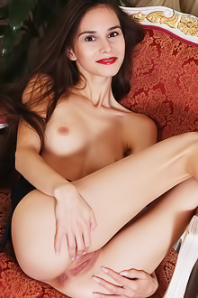 Russian Leona Mia Getting Naked