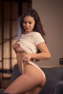 Sophie Limma - White Panties Out